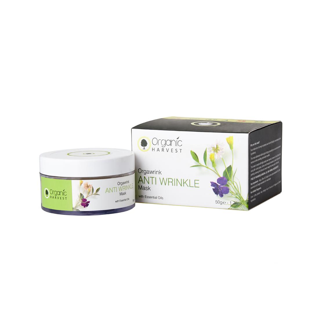 Organic Harvest | Anti Wrinkle Mask - 50g
