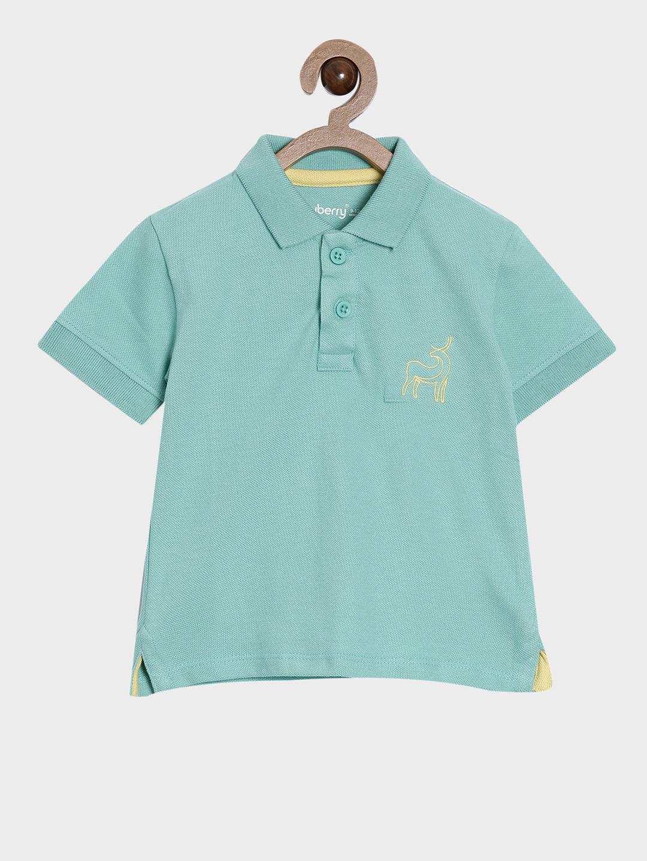 Nuberry   Nuberry kids Boys Cotton Plain Tshirt