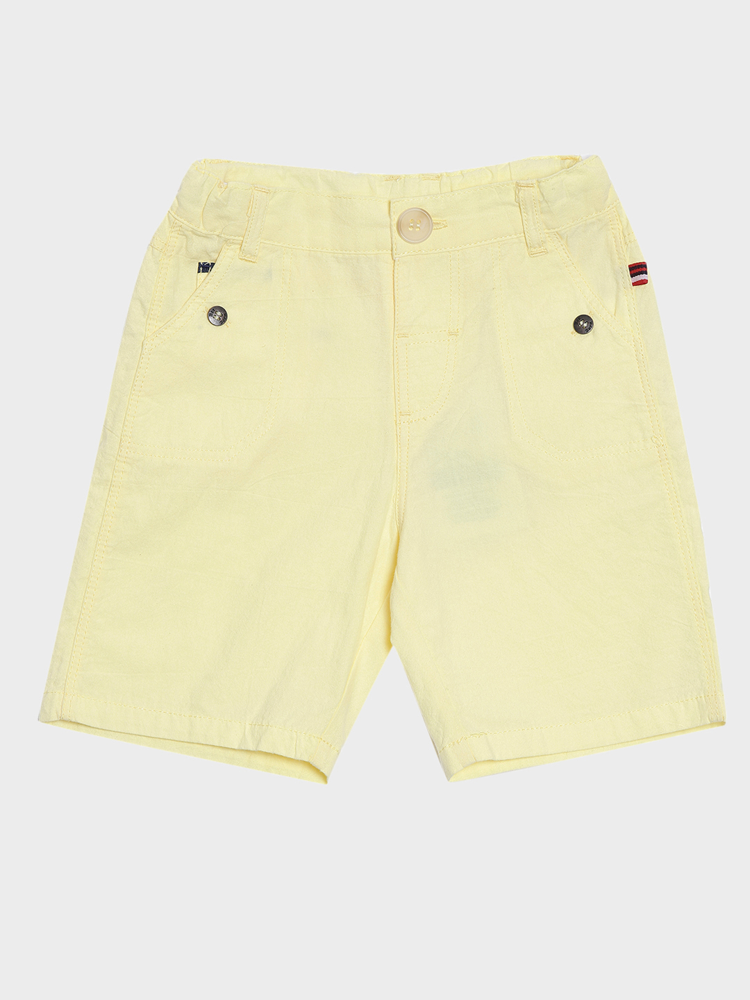 Nuberry | Nuberry Cotton Solid Kids Boys Shorts