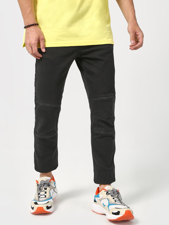Blue Saint | Blue Saint Men's Black Skinny Fit Jeans