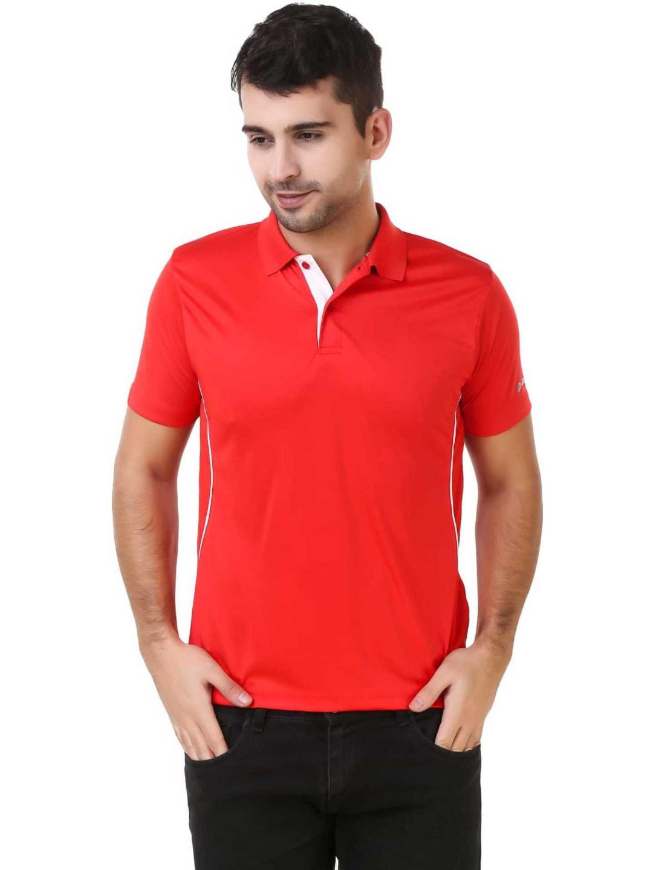 Lotto   Lotto Men's Polo Visor Red/Flame T-Shirt