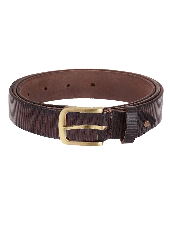 WildHorn   WildHorn Classic Leather Brown Belt for Men