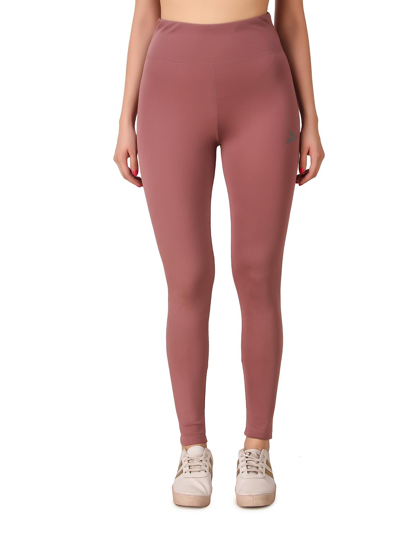 Fitinc | Fitinc Activewear Light Pink High Waist Tights for Women