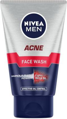 Nivea | NIVEA MEN Acne Face Wash  (100 g x2)