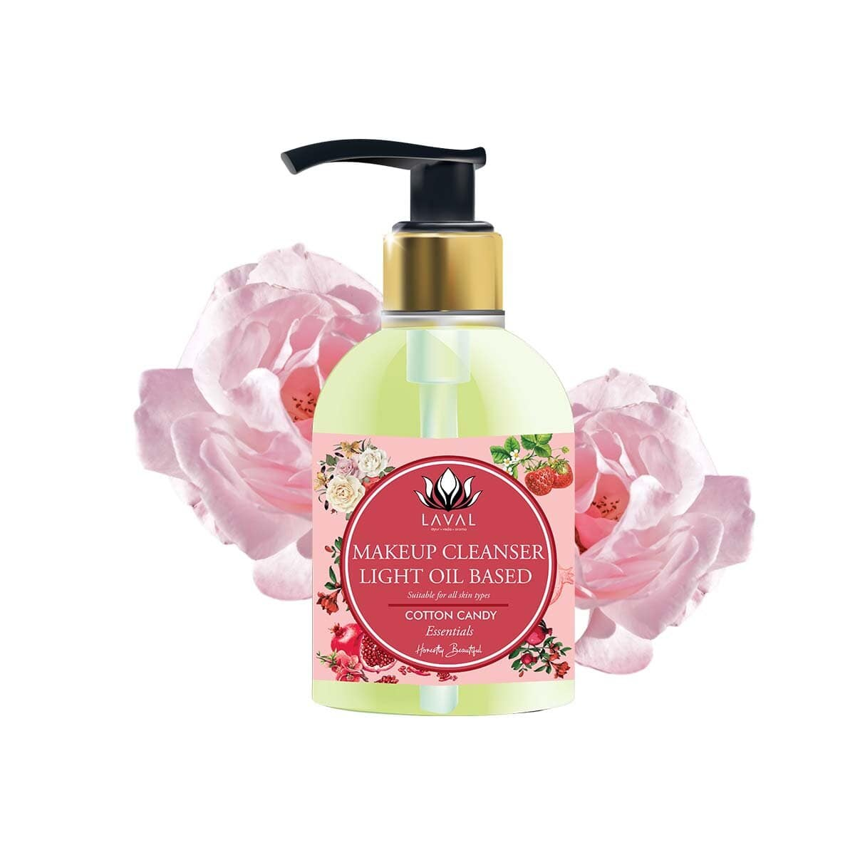 LAVAL | COTTON CANDY MAKEUP CLEANSER - LIGHT OIL BASED