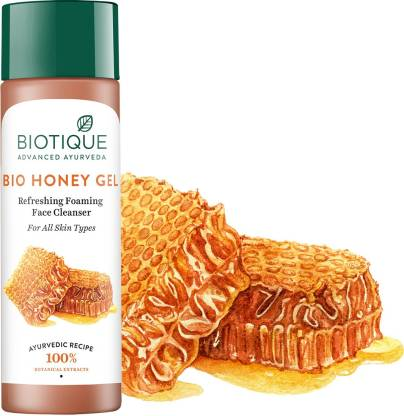 Biotique Advanced Ayurveda | BIOTIQUE Bio Honey Gel Refreshing Foaming Face Cleanser