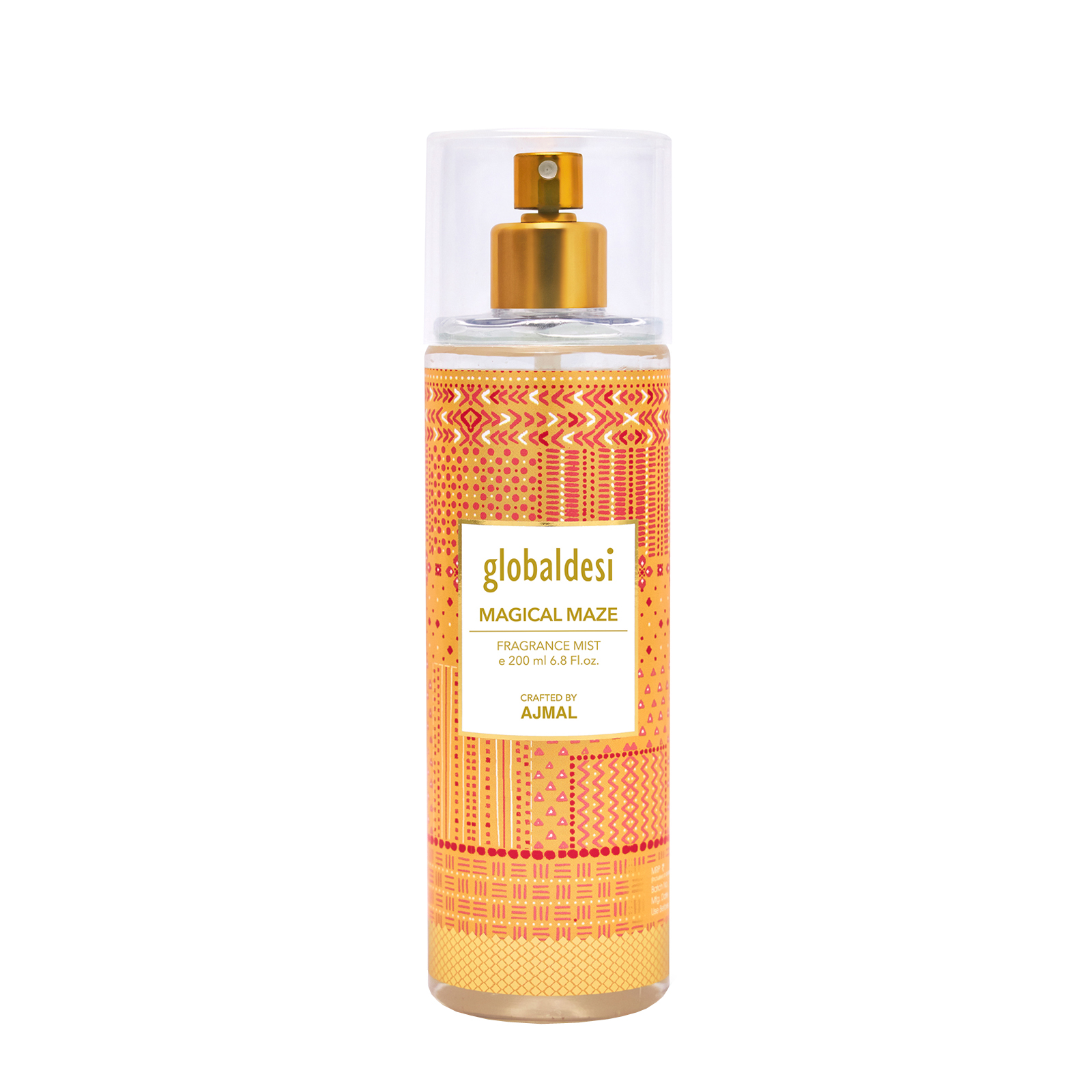 Global Desi Crafted By Ajmal | Global Desi Magical Maze Body Mist 200ML for Women Crafted by Ajmal