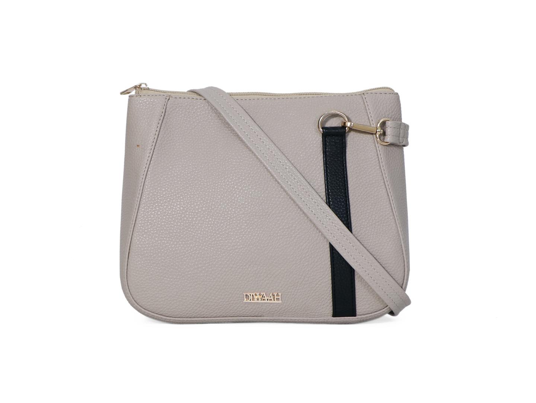 DIWAAH | Diwaah White Color Casual Sling Bag