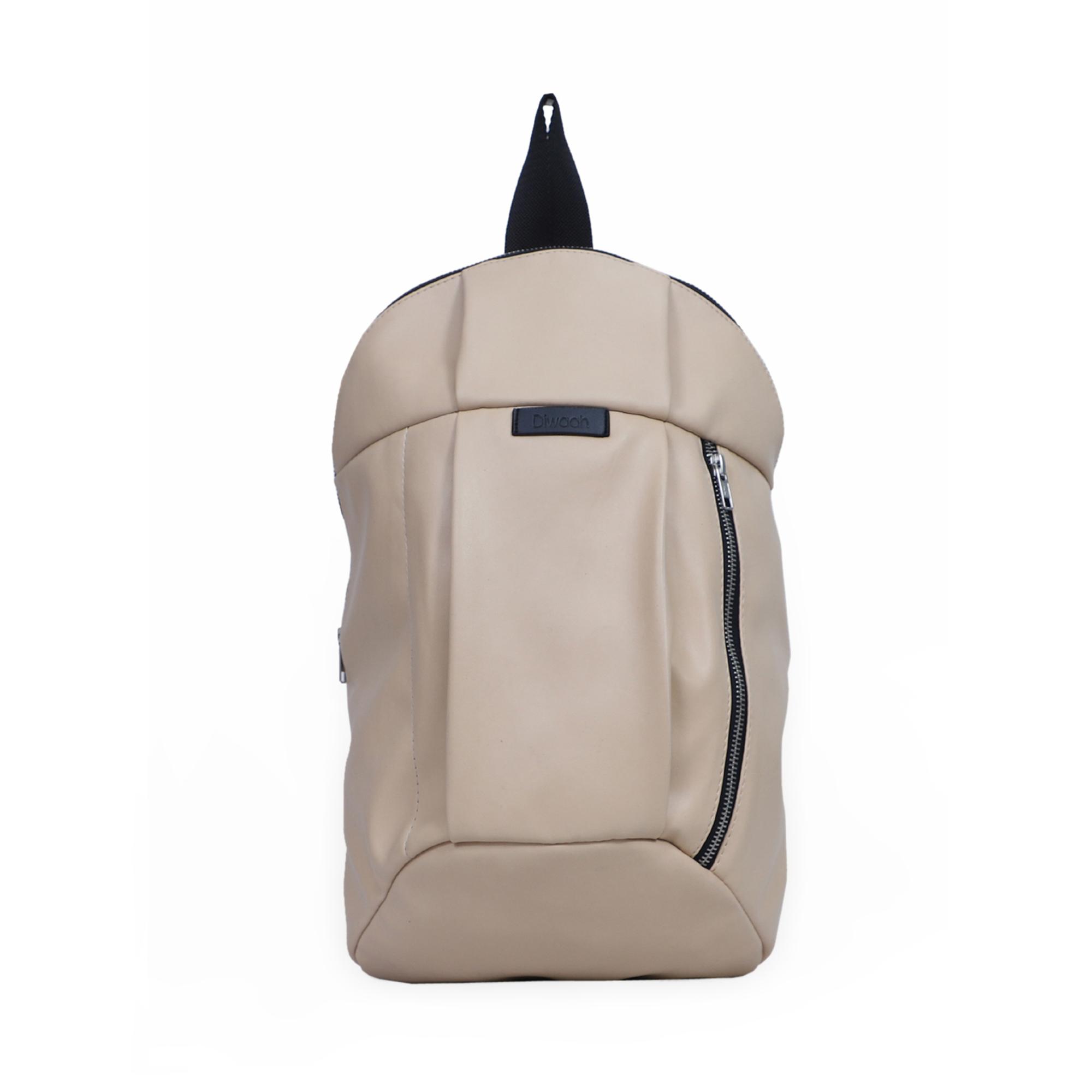 DIWAAH | Diwaah White Color Casual Backpack