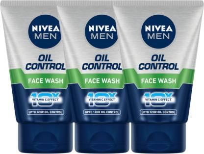 Nivea | NIVEA Oil Control Face Wash- Pack of 3 Face Wash