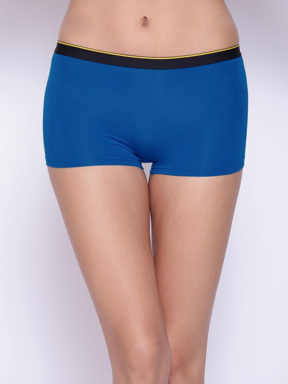 Bummer | Bummer Arctic Royal Blue Micro Modal Boy Short For Women