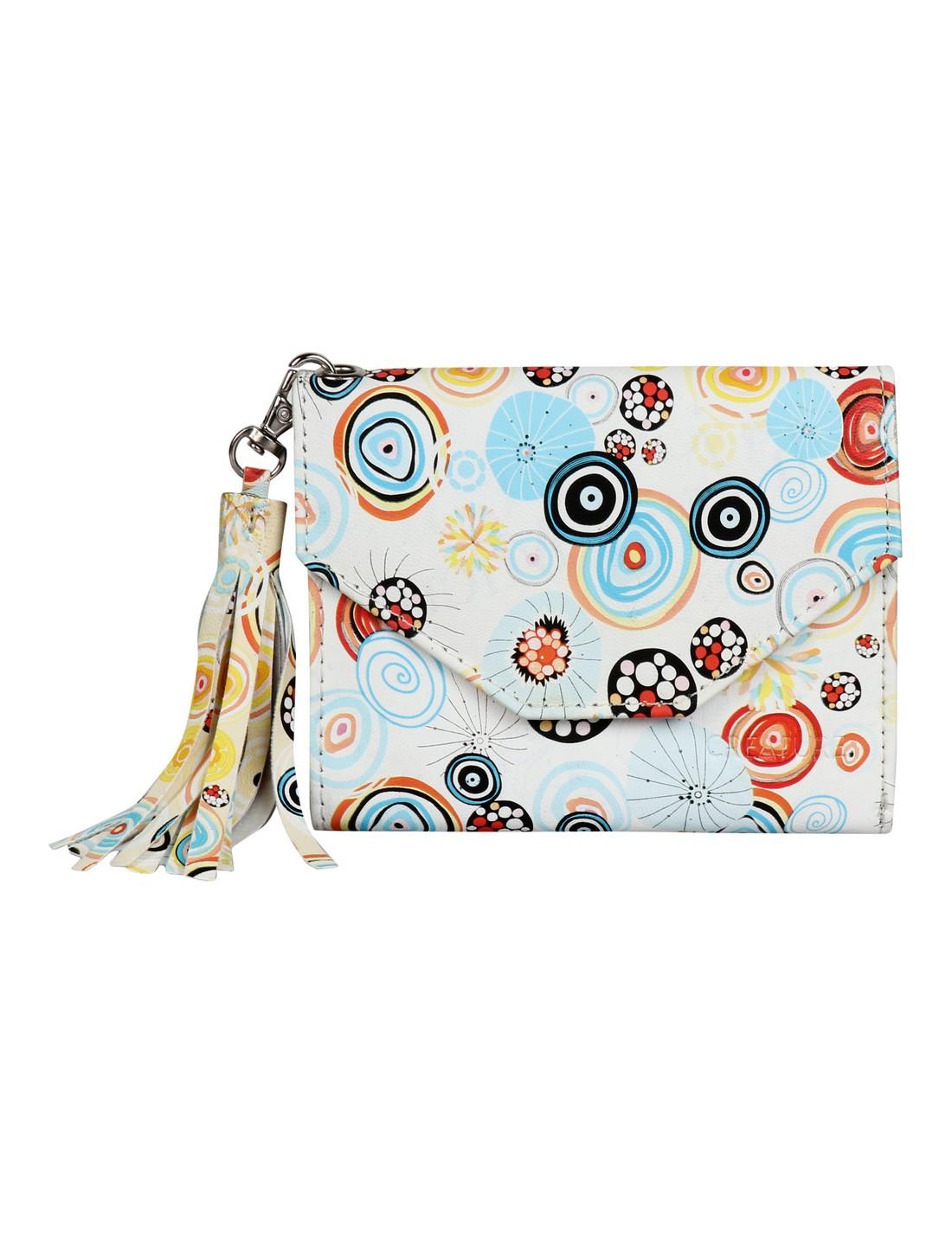 CREATURE | Creature Multicolor PU Leather Wallet for Women