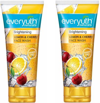 Everyuth Naturals | Everyuth Naturals Lemon & cherry Face Wash (50mlx4)