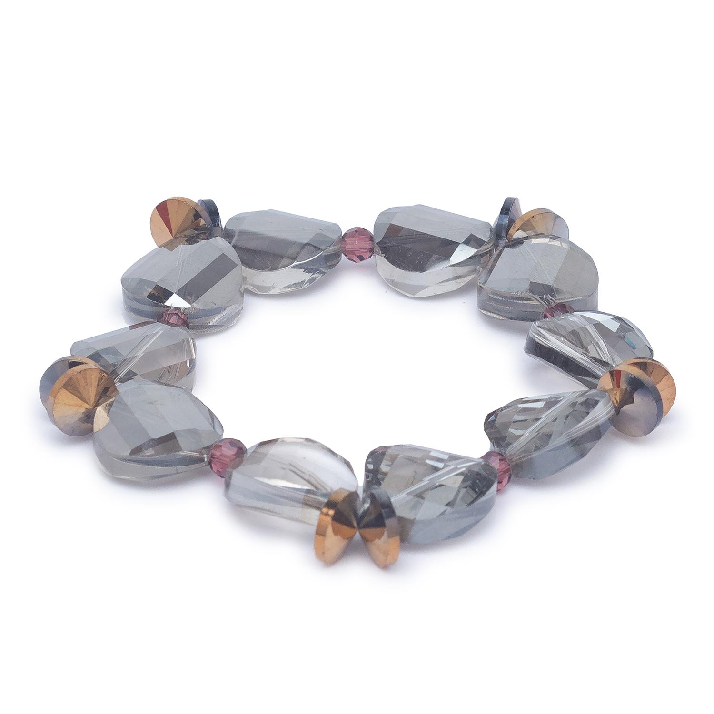 globus   Globus Grey Clasp Bracelet