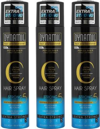 JBJ | JBJ Dynamic Extra Strong (Level 5) Hair Spray (Pack of 3)
