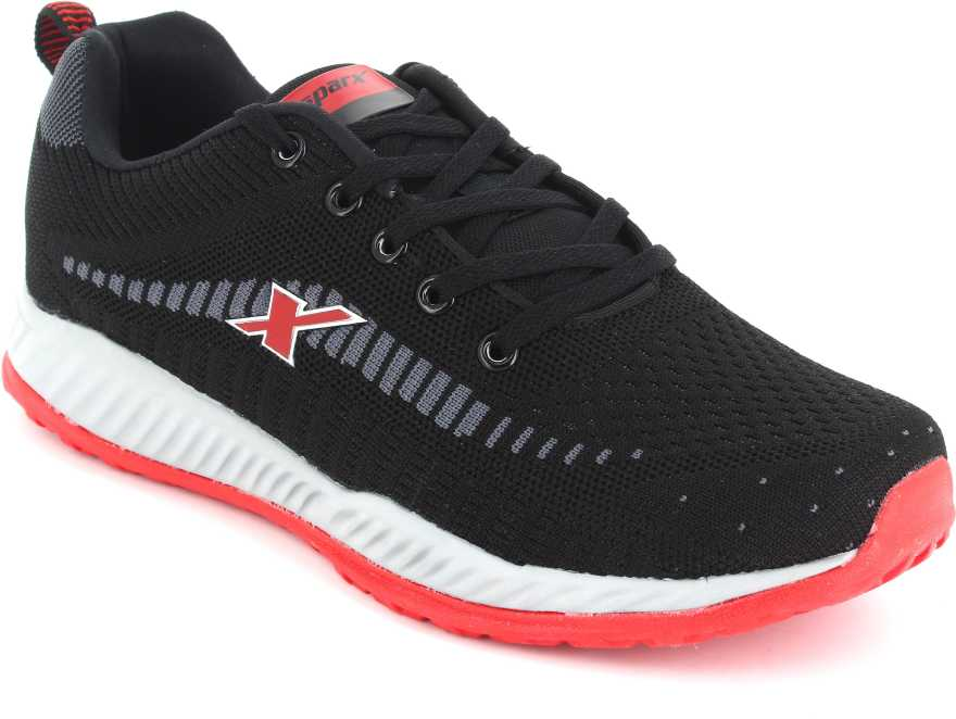 Sparx   Sparx Men Black Running Shoes