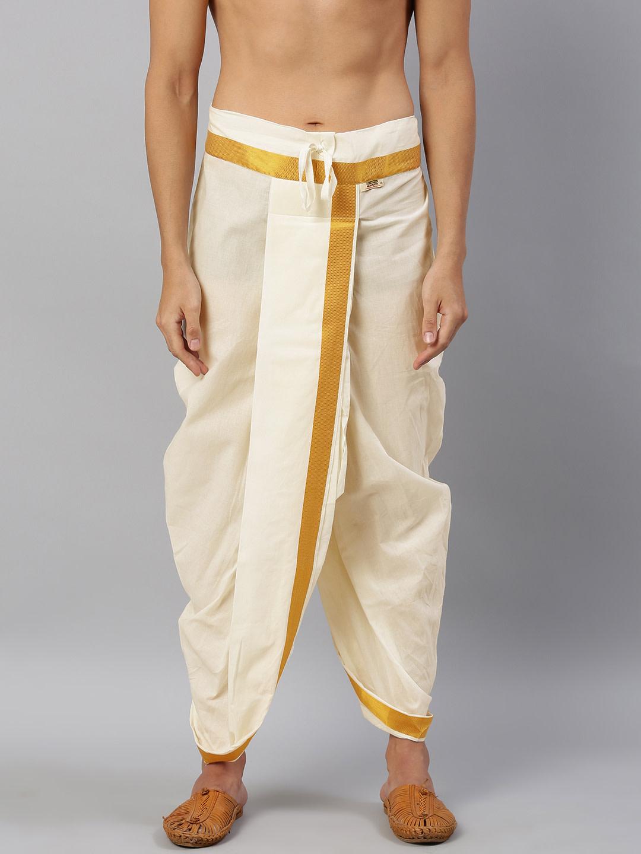Ramraj Cotton | Ramraj Cotton Men's Traditional Dhotis