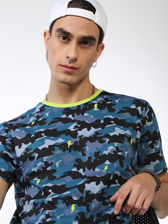 Blue Saint   Blue Saint Men's Multi Regular Fit T-shirts