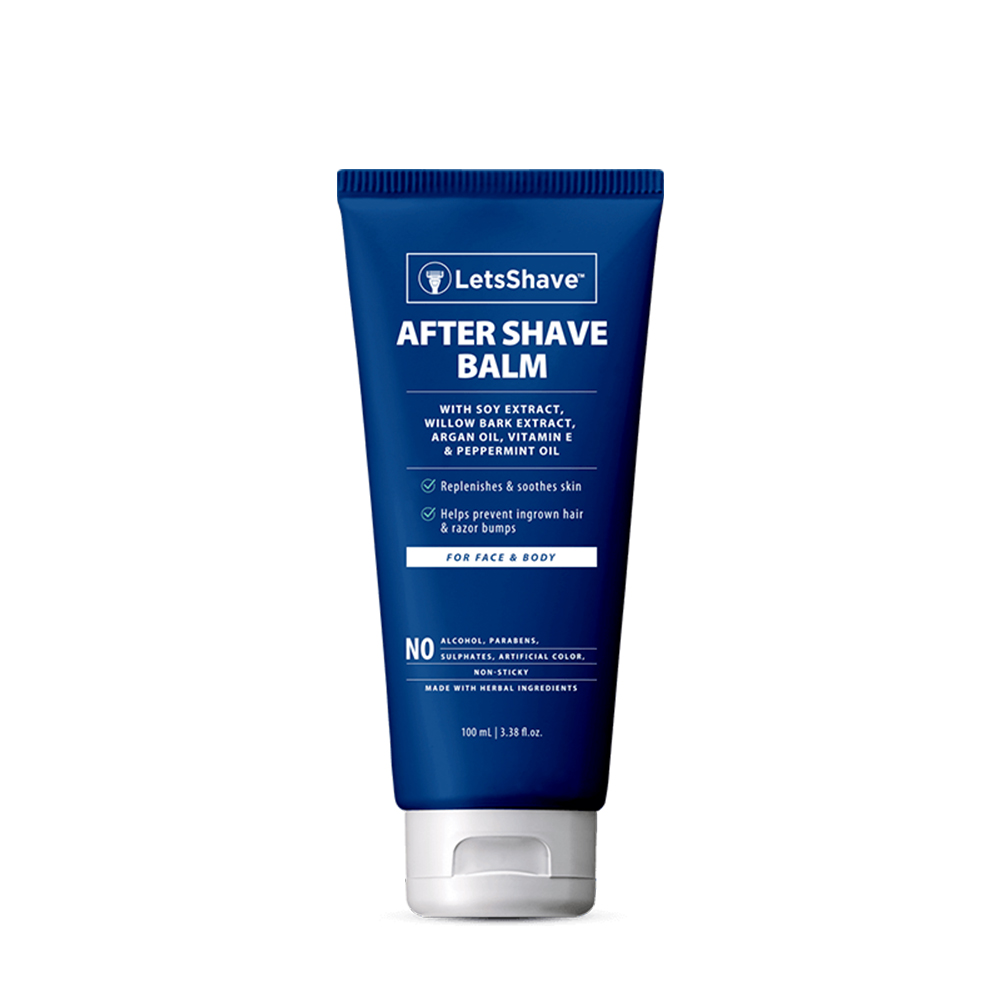 LetsShave | LetsShave After Shave Balm - Agran & Willow Bark Extract Enriched - 100 ml