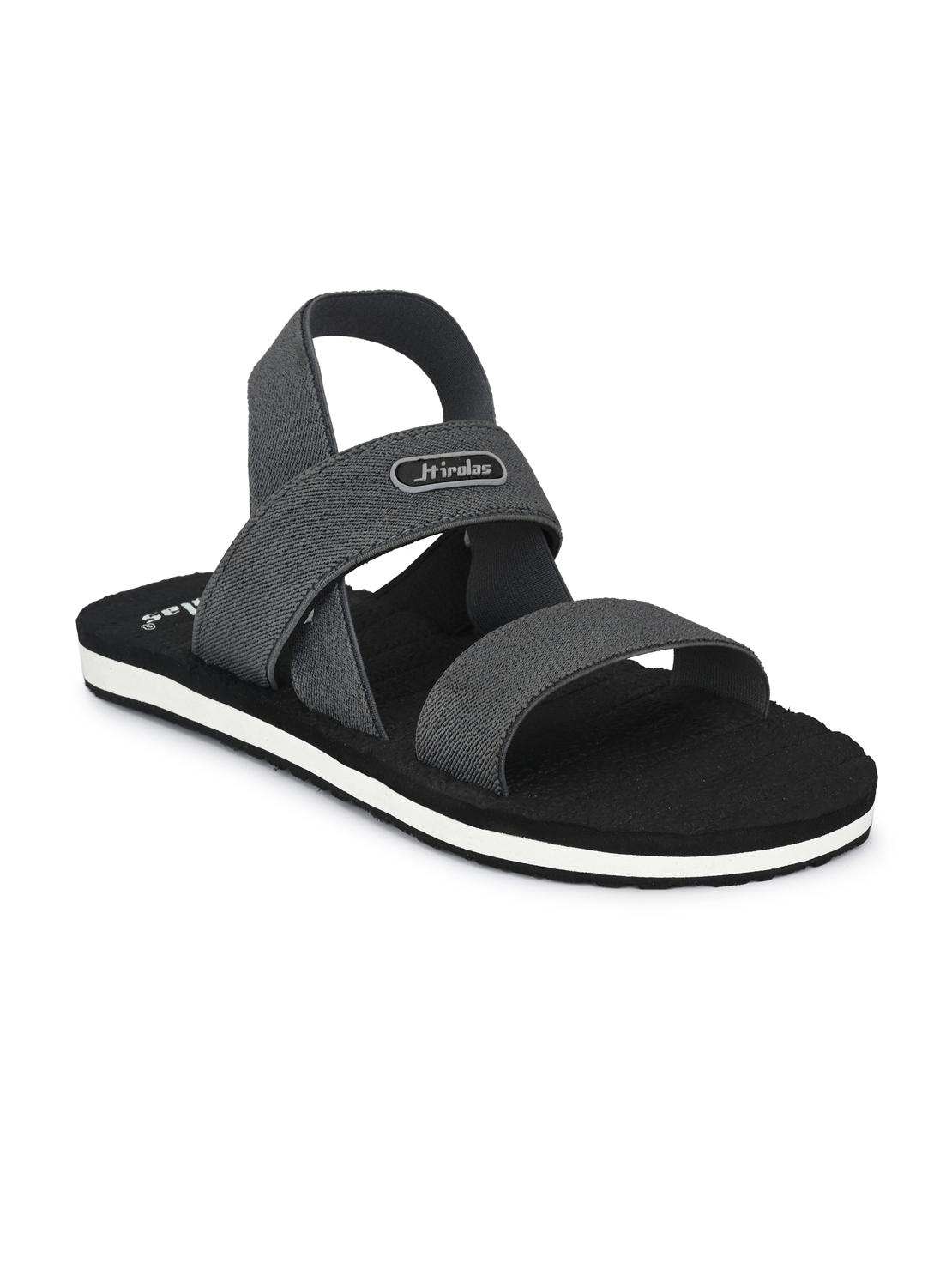 Hirolas | Hirolas Trendy Fabrication Flip-Flops Elasticated comfortable Slippers - Grey