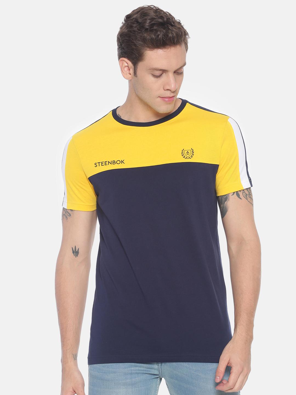 Steenbok | Steenbok Men's Colour Block Basic t-shirt