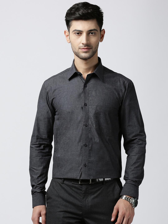 Jansons   Jansons Formal Solid Shirt - Black