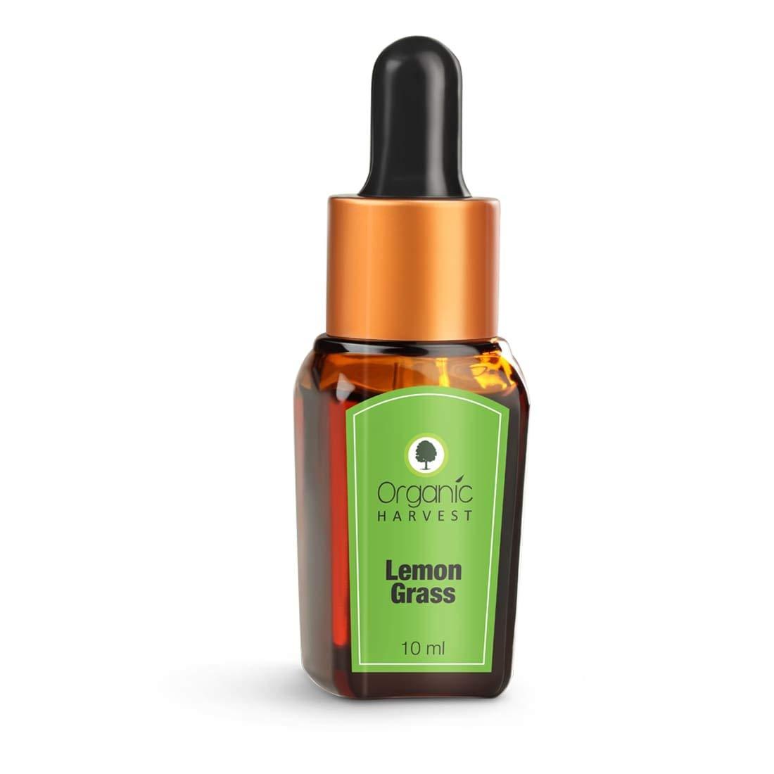 Organic Harvest | Lemon Grass Essential Oil - 10ml