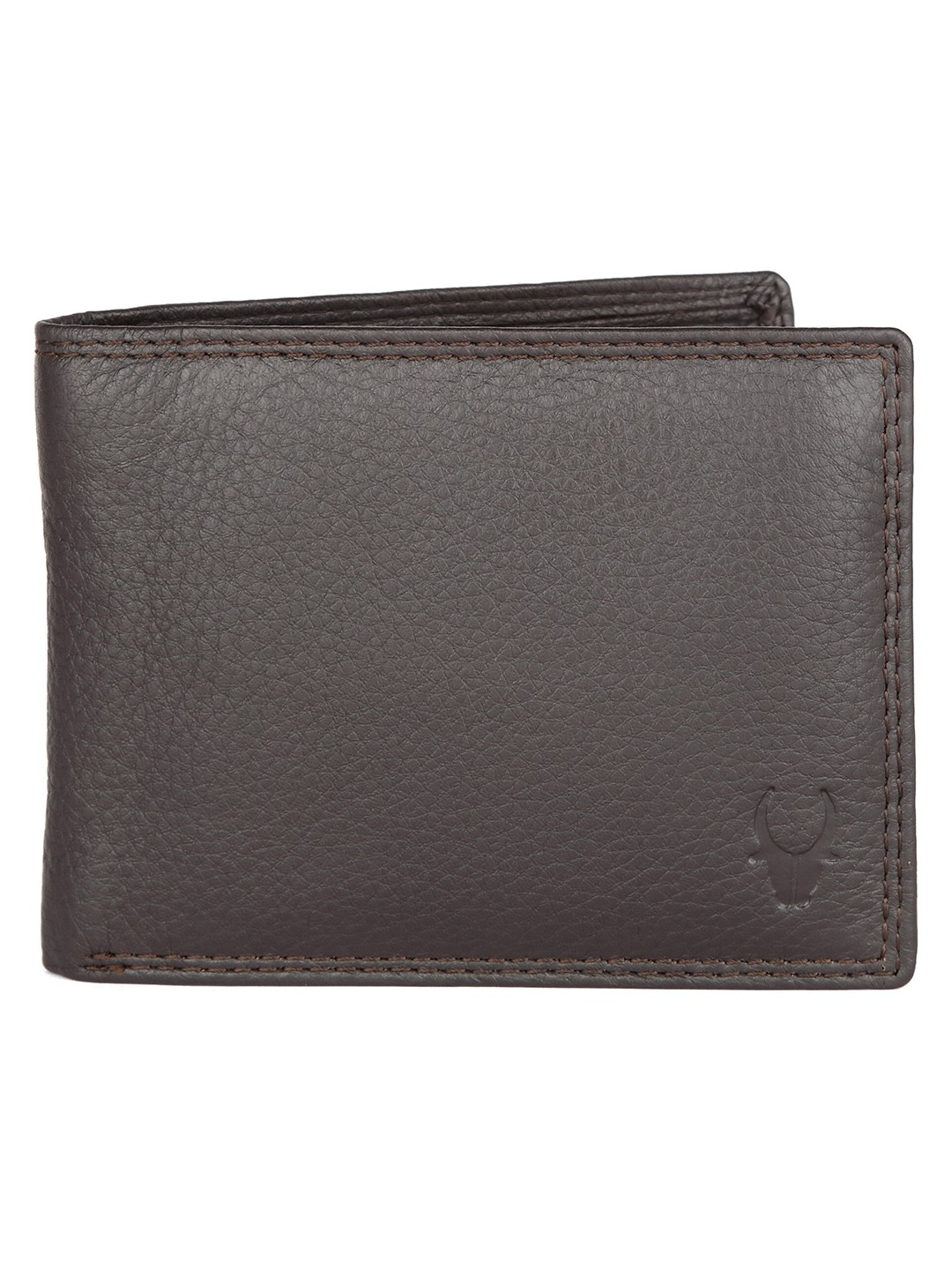 WildHorn | WildHorn RFID Protected High Quality Genuine Leather Brown Wallet for Men