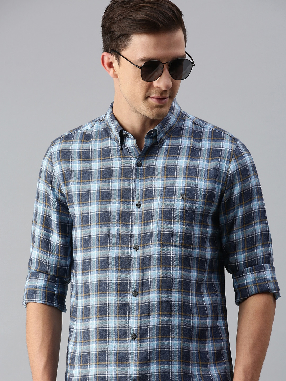 The Bear House | Men's Checkered Casual Shirt