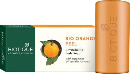 Biotique Advanced Ayurveda | BIOTIQUE BIO ORANGE PEEL Revitalizing Body Soap  (150g*3)