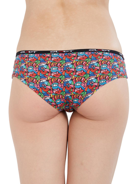 GLODT | Womens Girls Goo Goo Eyes Print Pima Cotton Hipster Panties