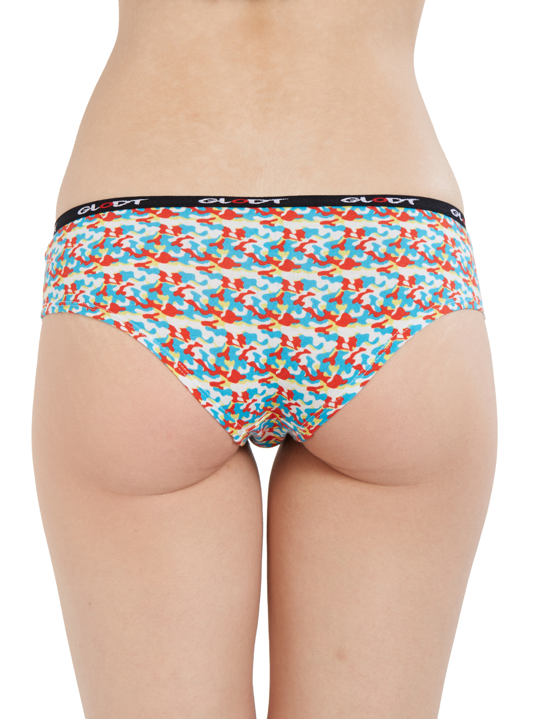 GLODT | Womens Girls Camouflage Print Pima Cotton Hipster Panties