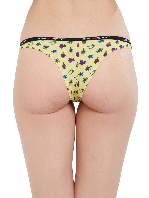 GLODT | Womens Girls Sunbathing Print Pima Cotton Bikini Panties