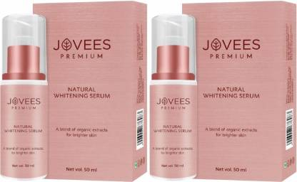 Jovees | JOVEES Premium Natural Whitening Serum (50mlx2 Pack of 2)