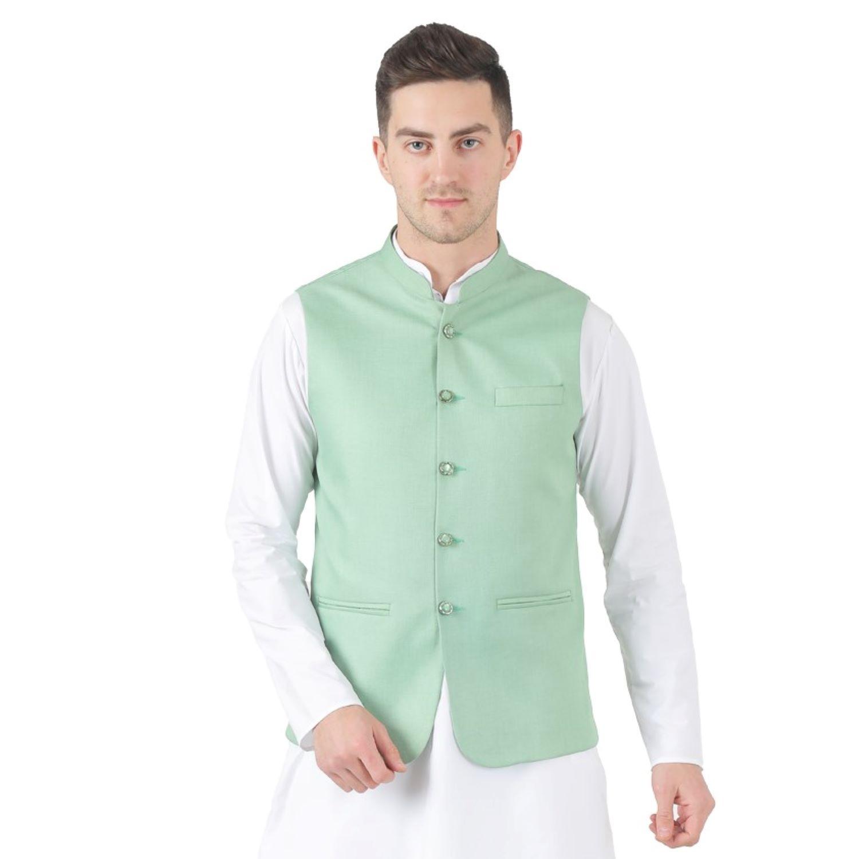TAHVO | Tahvo 5 Button Nehru Jacket
