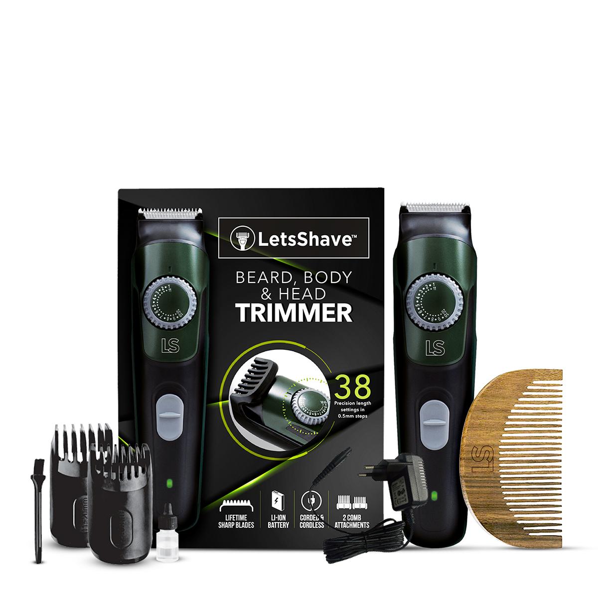 LetsShave | Trimmer Daily Kit