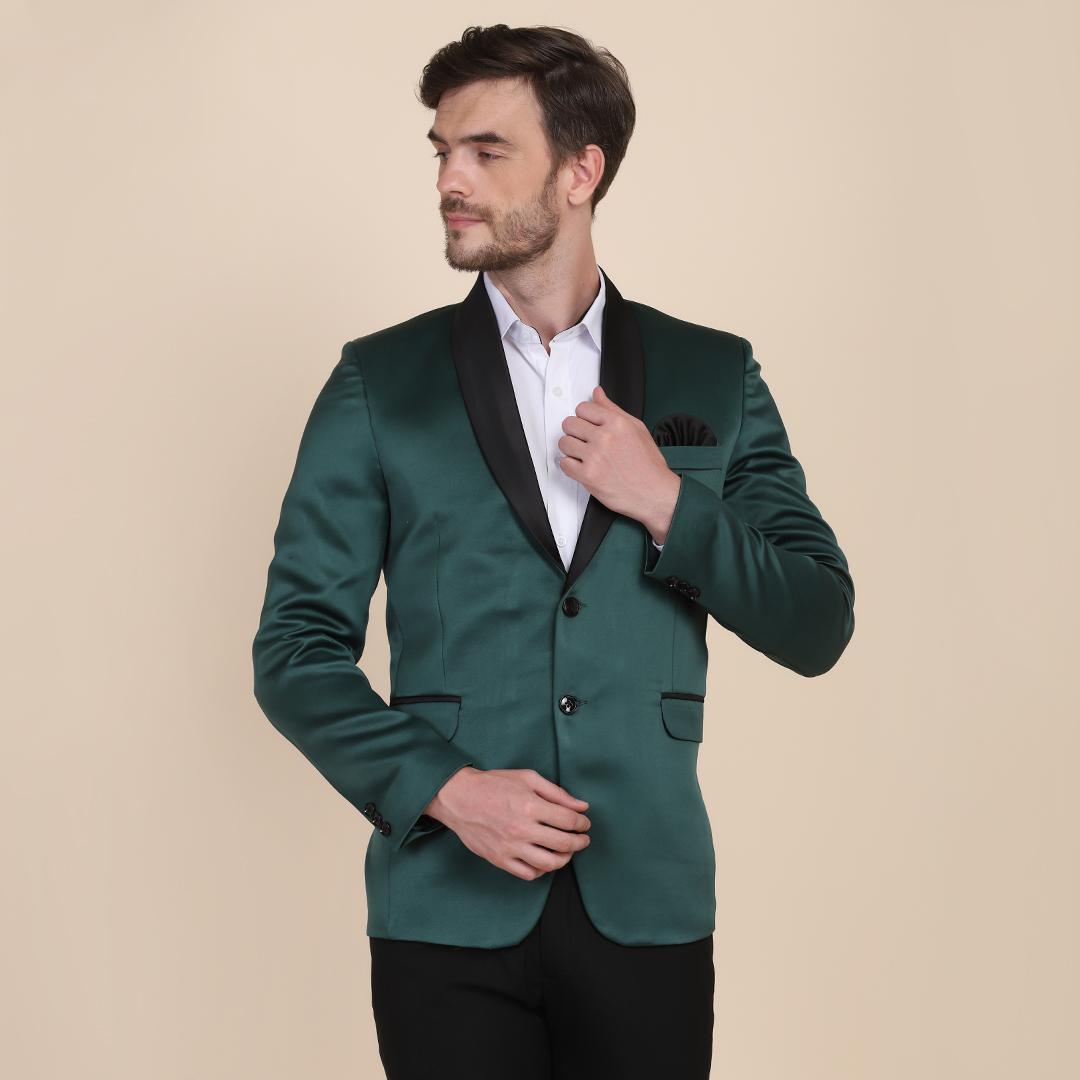 TAHVO | TAHVO Men Green Tuxedo