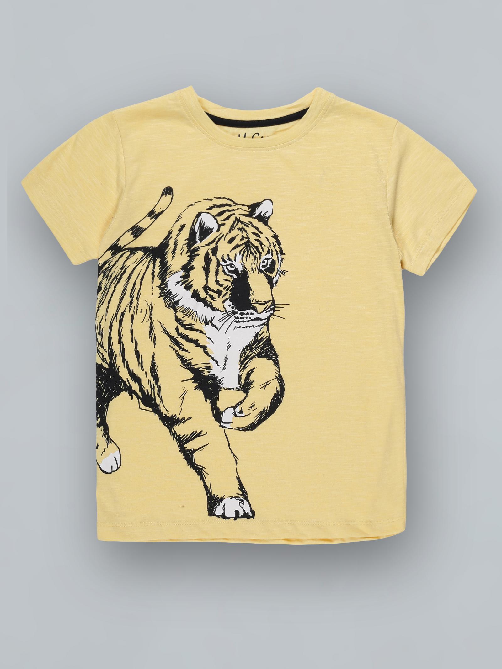 UrGear | UrGear Boys Animal Print Pure Cotton T Shirt