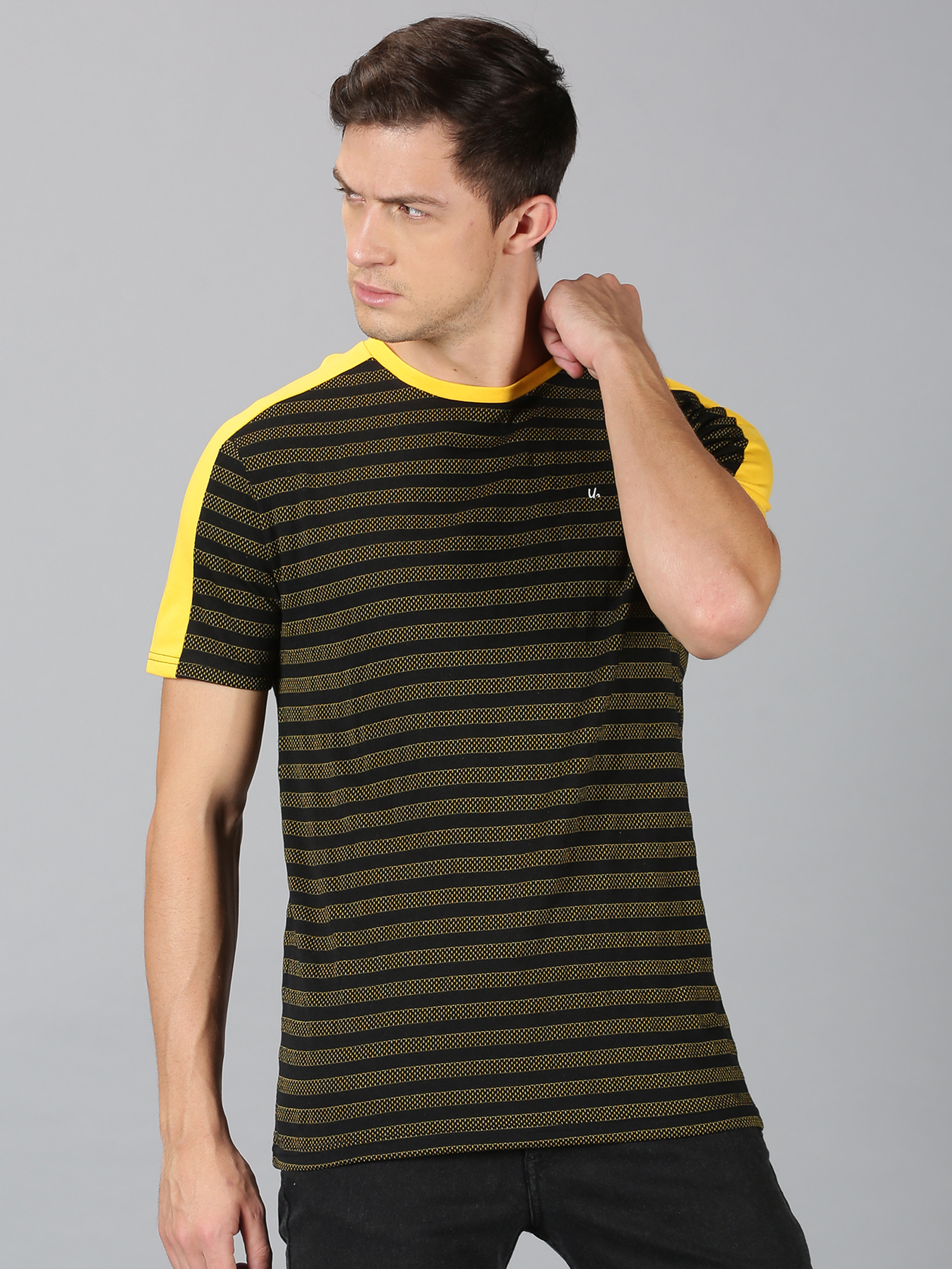 UrGear | Urgear Men Stripes T-Shirt