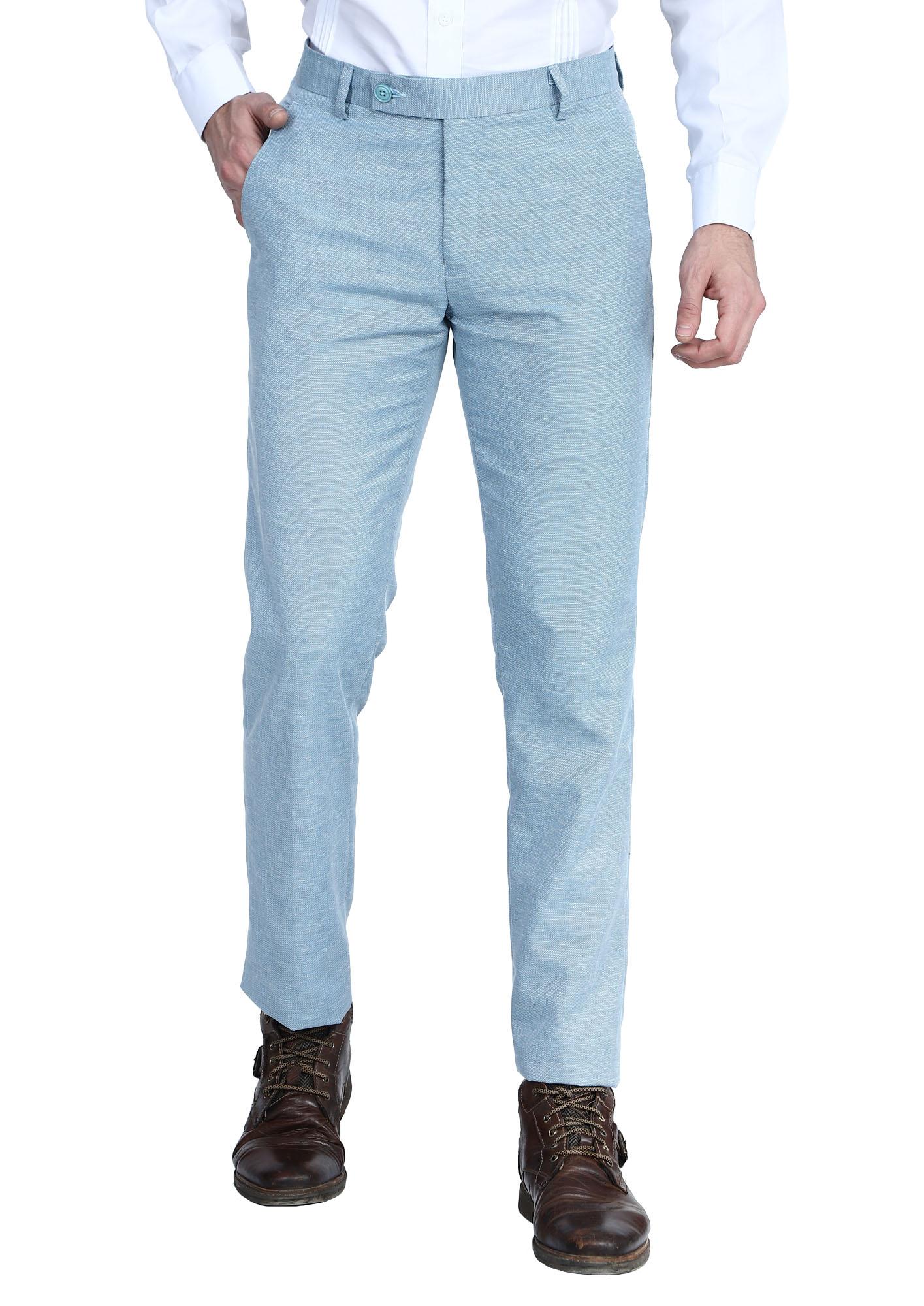 TAHVO | TAHVO men Jute linen formal trousers
