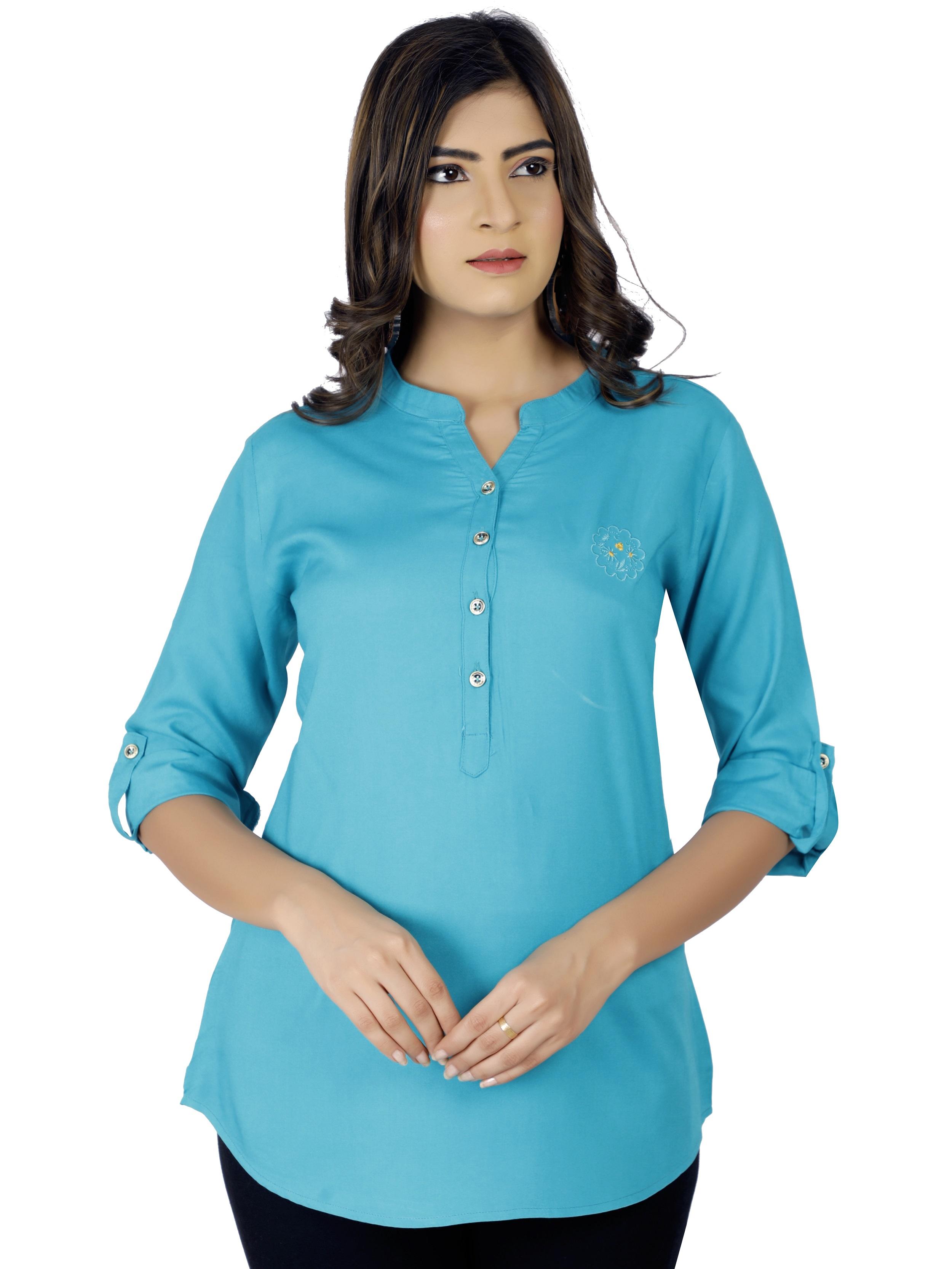 Impex | Women Trendy Shirt Type Top