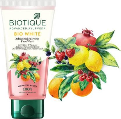 Biotique Advanced Ayurveda | BIOTIQUE Bio White Face Wash