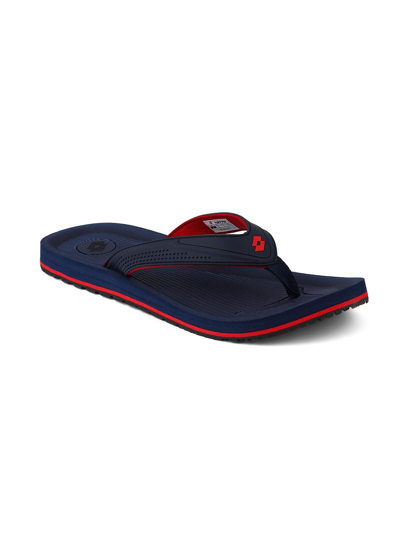 Lotto | Lotto Men's Lapo Navy/ Red Slippers