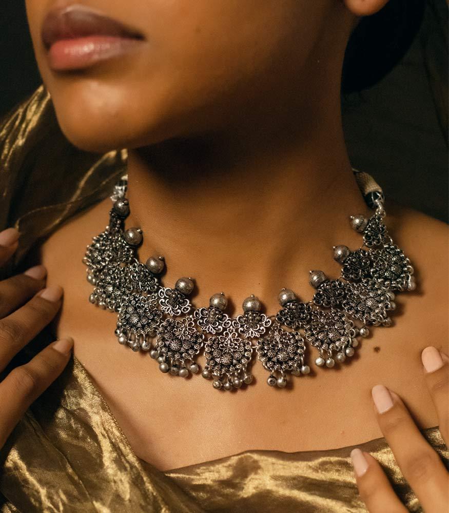 ZARIIN   Moonlight Soaked Necklace