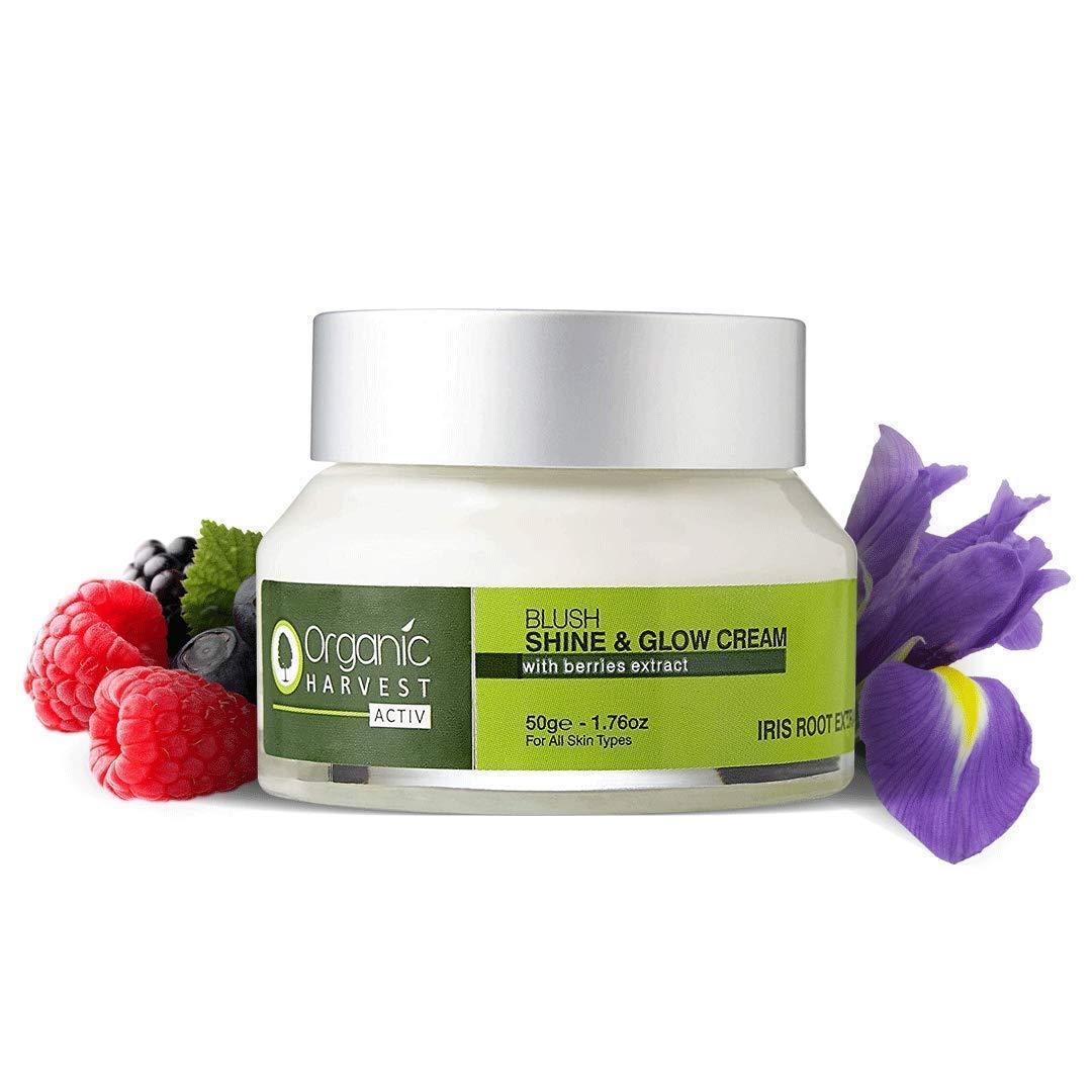 Organic Harvest | Activ Range Shine and Glow Cream - 50g