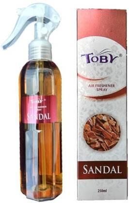 Toby | TOBY Sandal Air Freshener (Room Spray) - 250 ml*2