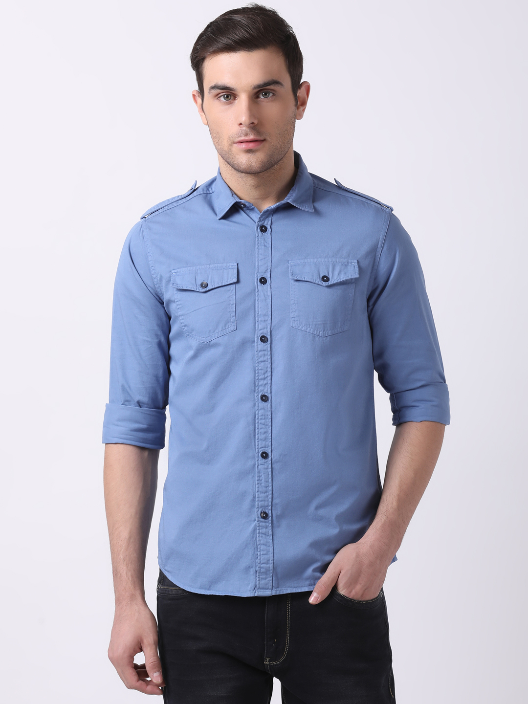 The Bear House | TBH Over-Dyed 2-Pocket Shirt