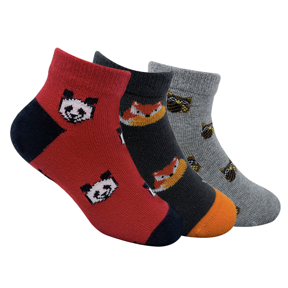 Mint & Oak | Mint & Oak Animal Junction Cotton Ankle Length Socks for Kids