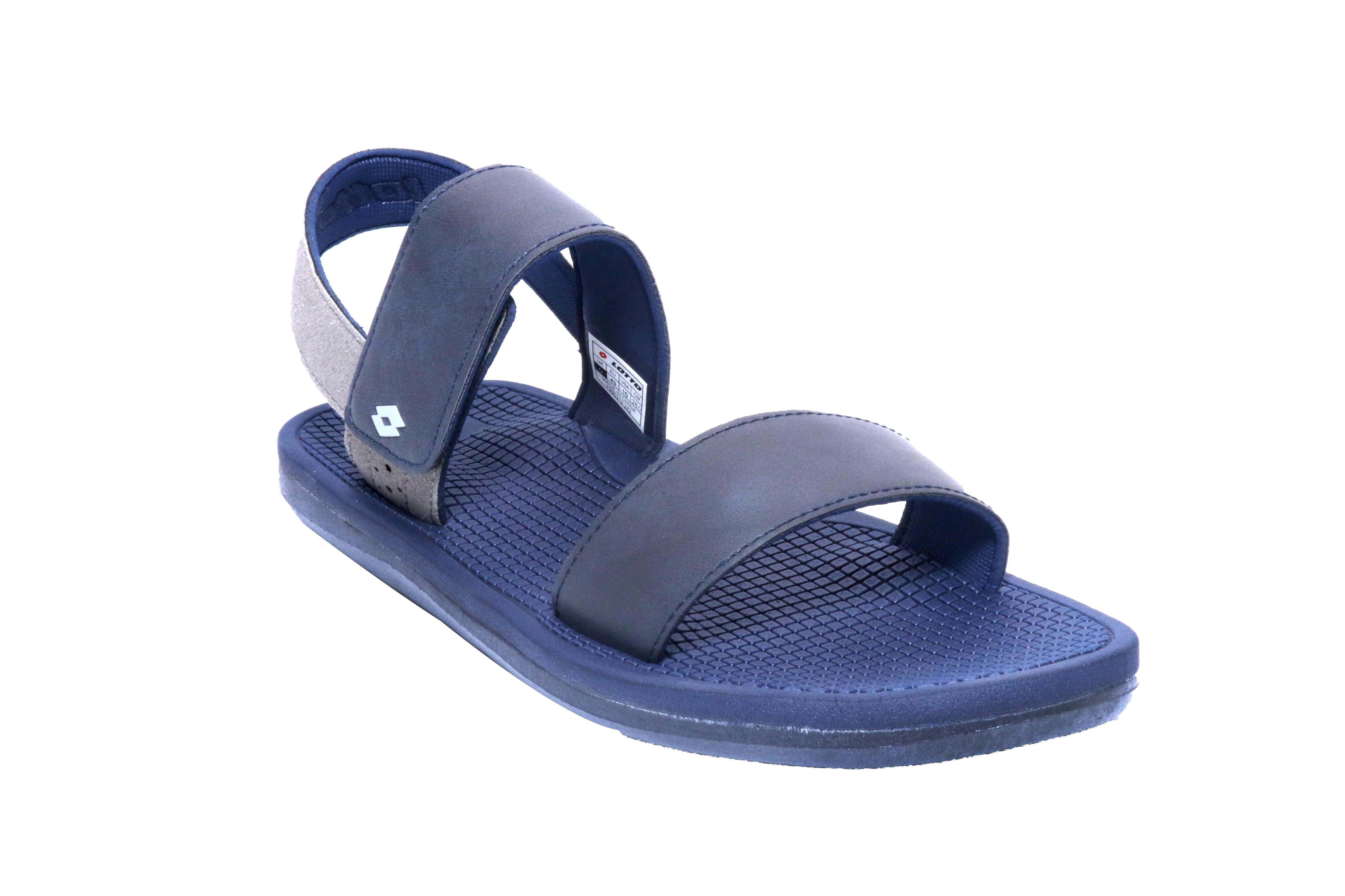 Lotto | Lotto Men's Fulvio Grey/ Blue Sandals