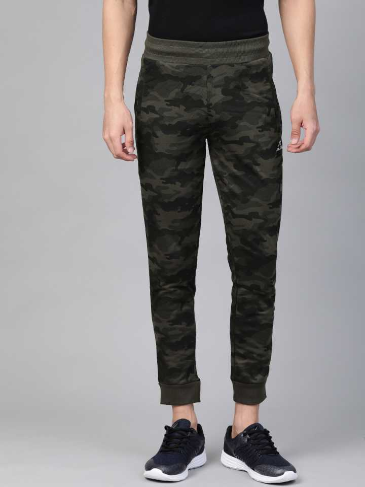 ALCIS | Alcis Printed Men Green Track Pants
